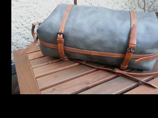 klama unikatowe torebki torby ręcznie szyte hand stitched torba weekendowa colonial weekender bottom