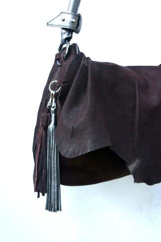 klama unikatowe torebki torby ręcznie szyte hand stitched hippie luxe detal1